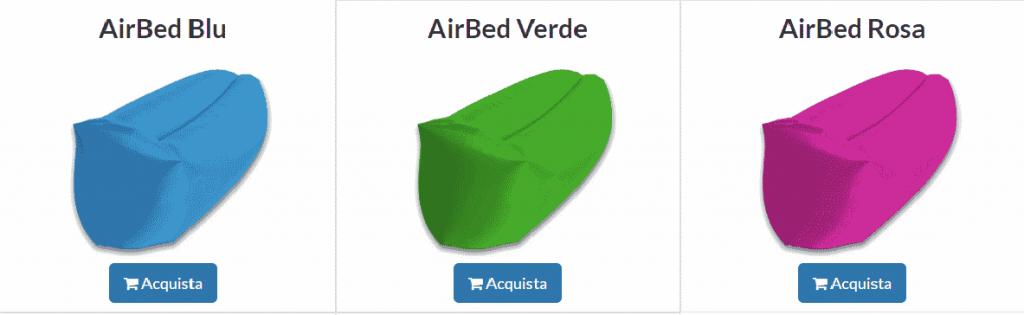 AirBed colori