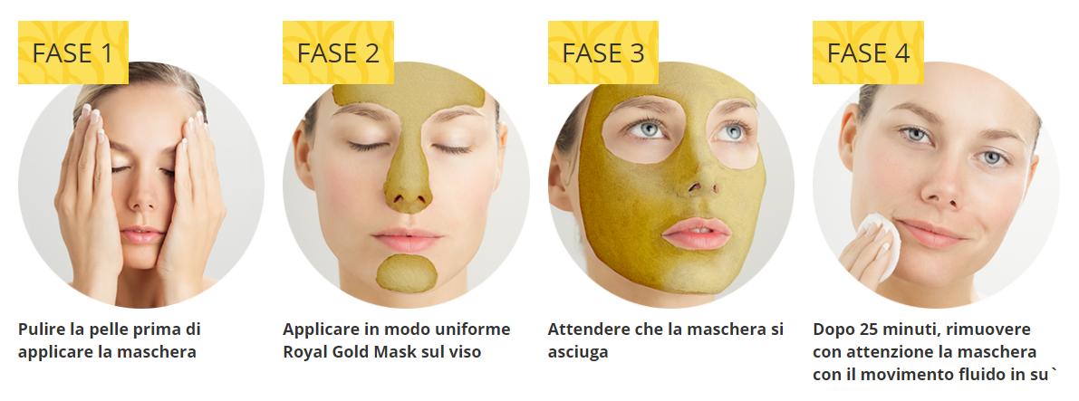 Royal Gold Mask uso