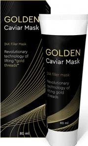 golden caviar mask
