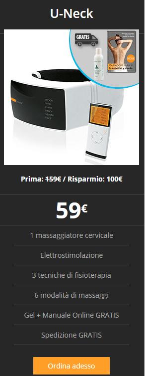 u-neck prezzo