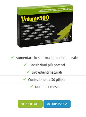 Volume 500 prezzi.