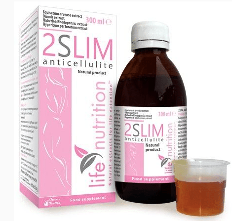 2 slim anticellulite dosaggio sciroppo