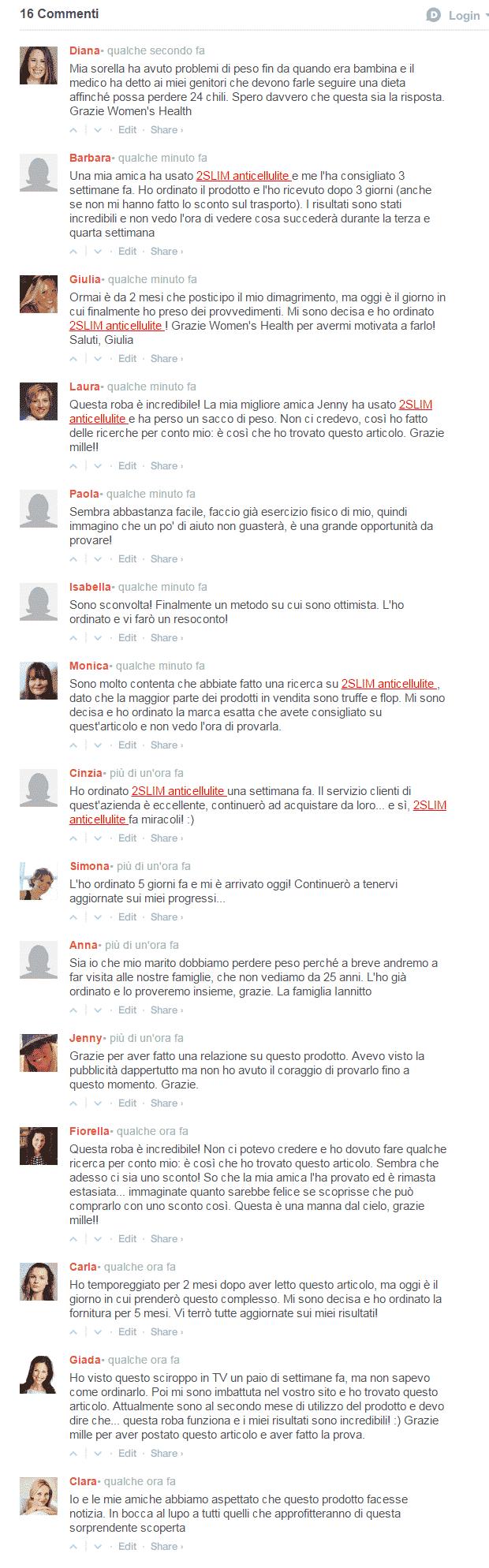 2 slim anticellulite pareri opinioni