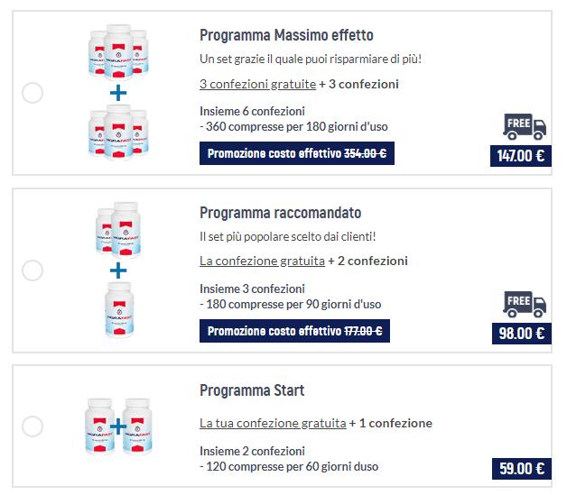 VigraFast prezzo