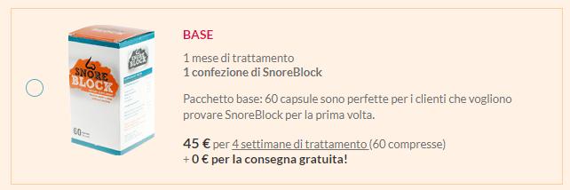 Snore Block