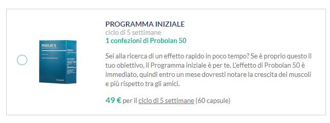 Probolan 50 prezzo