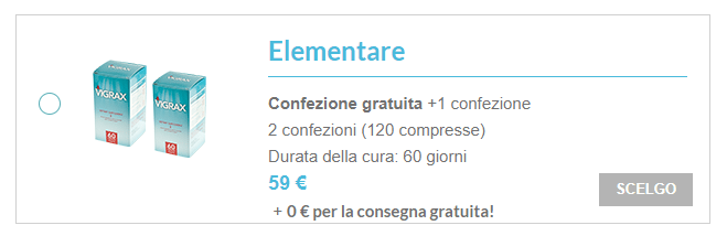 vigrax prezzo