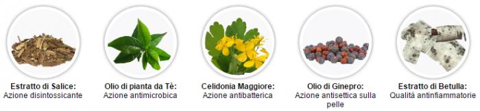 PsoriFix Crema psoriasi ingredienti componenti benefici