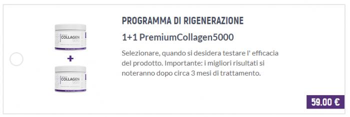 PremiumCollagen5000 prezzi