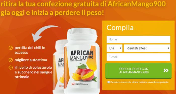 african mango ordinare prezzo confezione gratuita