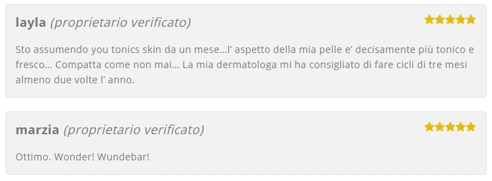 YouTonics Skin opinioni recensioni