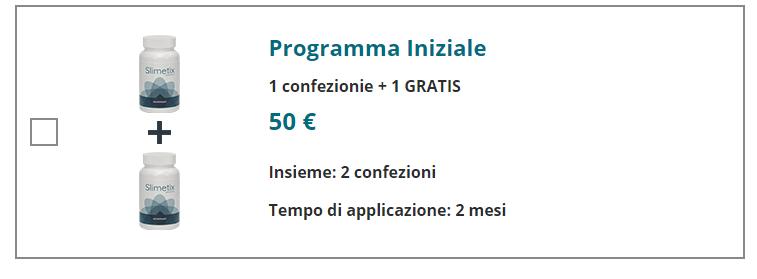 slimetix prezzo