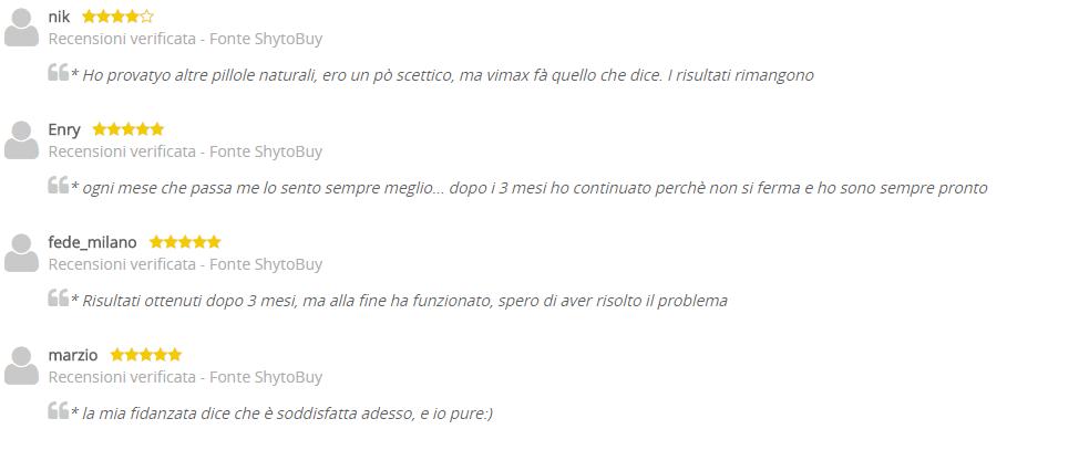 Vimax OPINIONI RECENSIONI