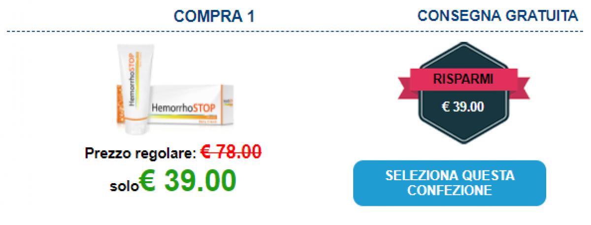 HemorrhoSTOP prezzo