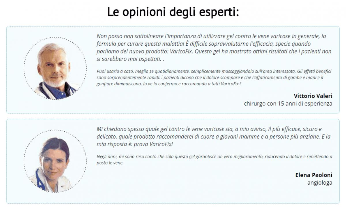 VaricoFix opinioni mediche