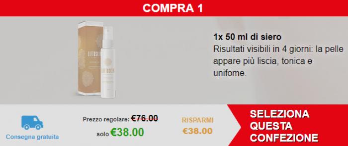 Liftoskin® prezzi.