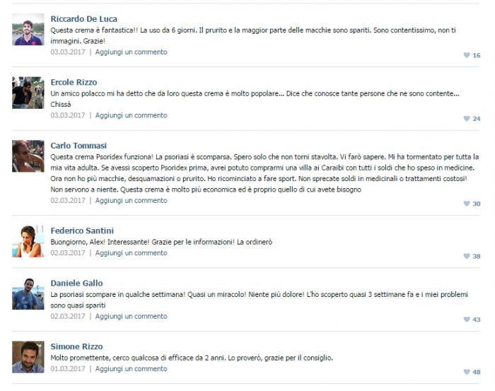 Psoridex opinioni recensioni commenti pareri