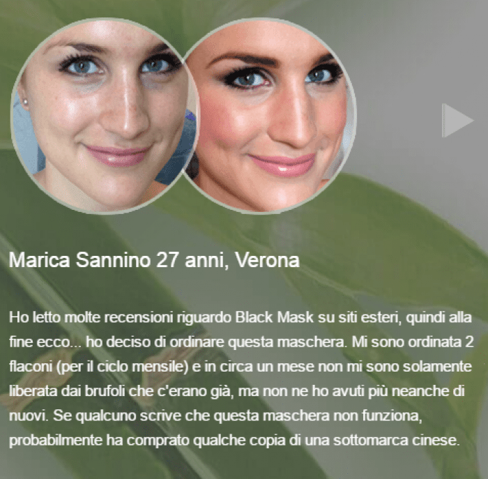 Black Mask testimonianze