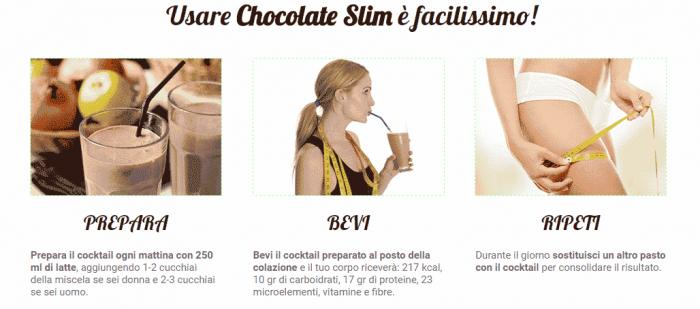 Chocolate Slim istruzioni come si usa e come prenderlo